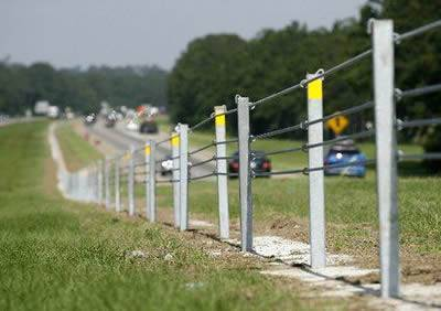 Cable Barrier Cost Effectively To Secure Highway Safety