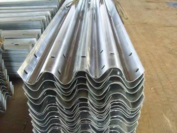 W-Beam Guardrail with High Cost Effectiveness